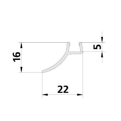 EDTL F122394 1x 1216 06 2000 mm BS