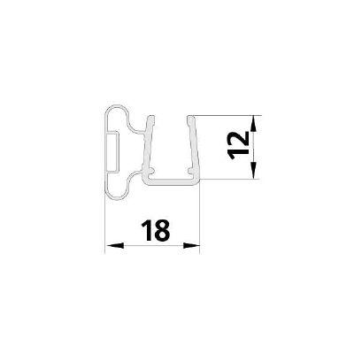 F126504 Pendeltürmagnet 2050 mm